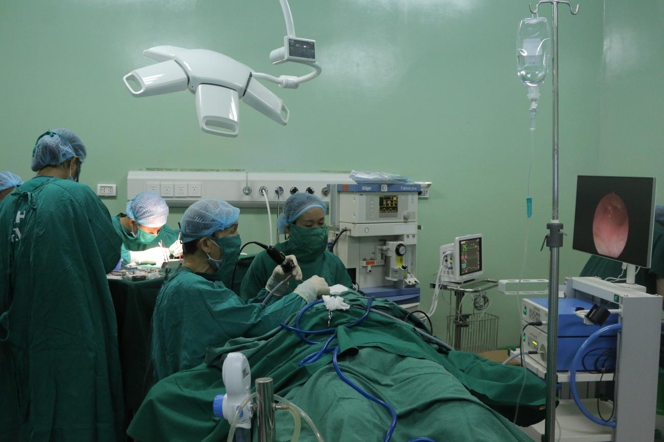 Phẫu thuật nội soi phục hồi chức năng nghe cho bệnh nhân