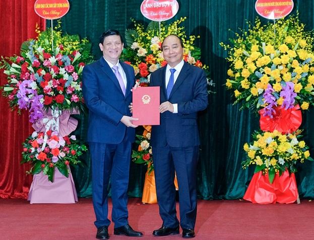 Bệnh viện Trung ương Thái Nguyên: Chúc mừng tân Bộ trưởng Bộ Y tế