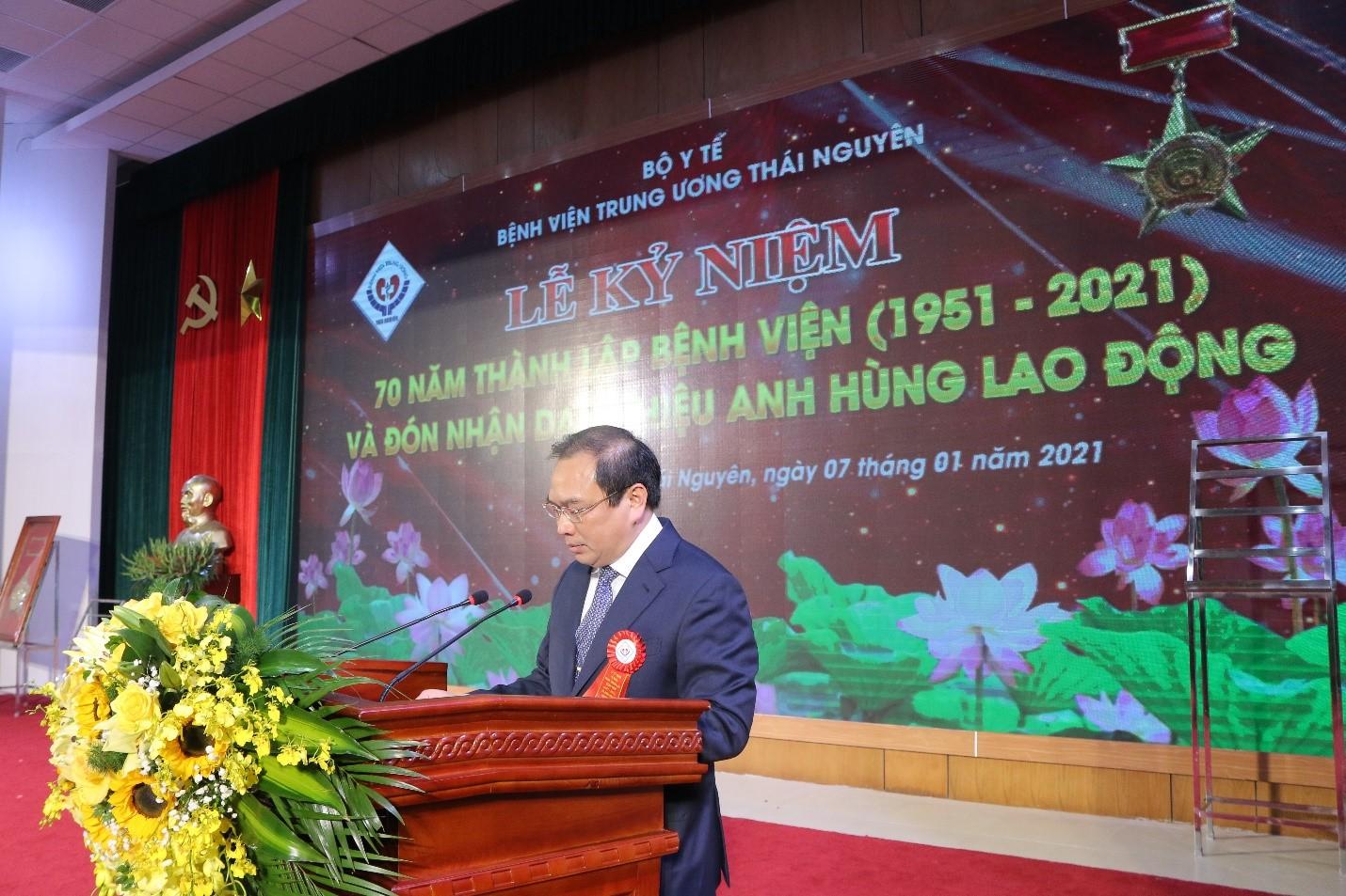 Xây dựng Bệnh viện Trung ương Thái Nguyên xứng đáng là đơn vị Anh hùng Lao động và niềm tin của nhân dân