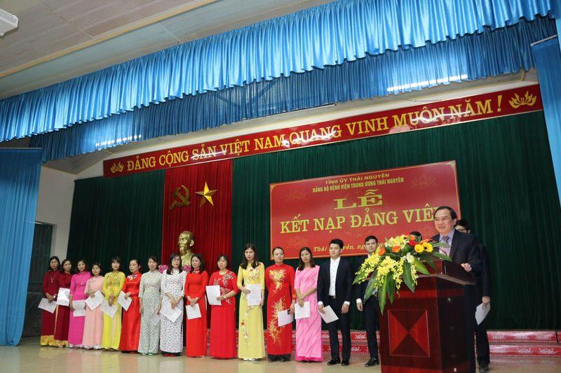 Kết nạp Đảng nhân dịp kỷ niệm 73 năm ngày thành lập Quân đội Nhân dân Việt Nam
