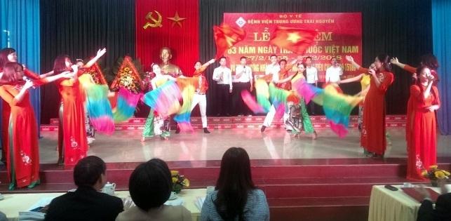 VNTN – Chiều nay (23/02), Bệnh viện Trung ương Thái Nguyên đã tổ chức Lễ kỷ niệm 63 năm Ngày Thầy thuốc Việt Nam (27/02/1955 – 27/02/2018).
