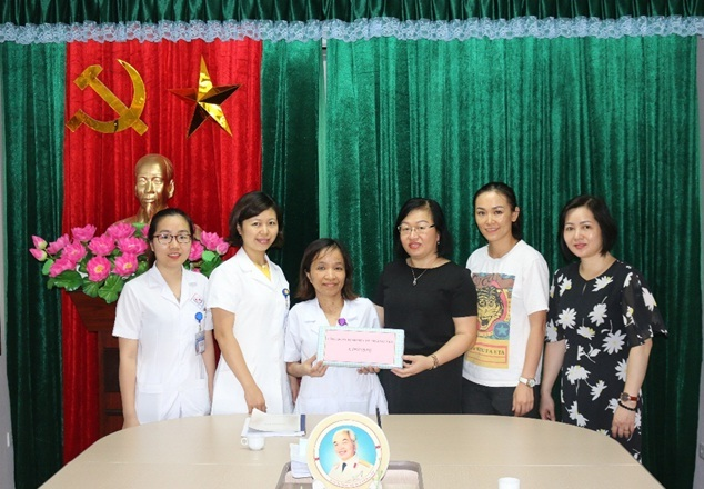 Sẻ chia yêu thương trong mái nhà Bệnh viện Trung ương Thái Nguyên
