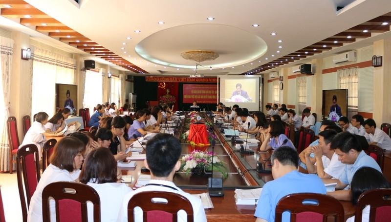 Hội nghị trực tuyến cán bộ toàn quốc học tập, quán triệt và triển khai Nghị quyết Hội nghị lần thứ bảy Ban chấp hành Trung ương Đảng khóa XII