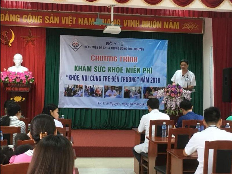 Bệnh viện Trung ương Thái Nguyên tổ chức Chương Trình Khám sức khỏe miễn phí