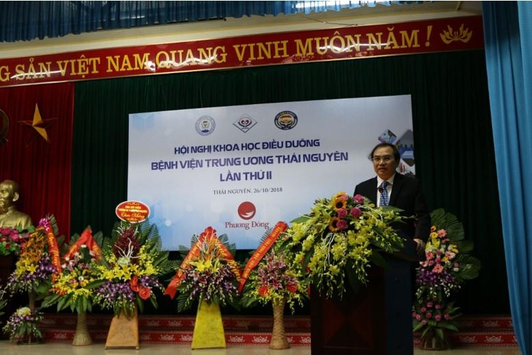 Hội nghị khoa học điều dưỡng Bệnh viện đa khoa trung ương Thái Nguyên lần thứ II