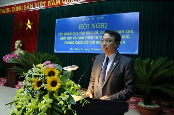 Hội nghị tập huấn quy tắc ứng xử, quy chế dân chủ, học tập và làm theo tư tưởng, đạo đức, phong cách Hồ Chí Minh năm 2018