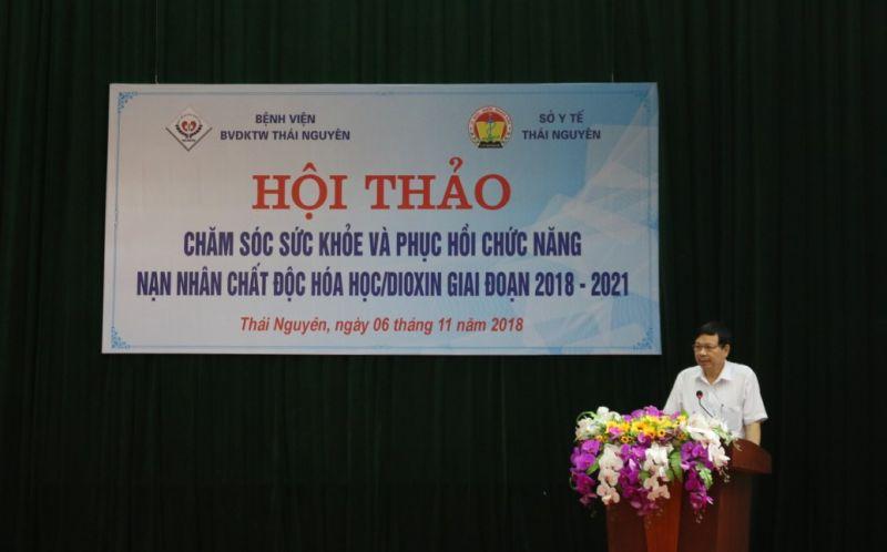 Hội thảo Chăm sóc sức khỏe và phục hồi chức năng nạn nhân chất độc hóa học/ Dioxin giai đoạn 2018 - 2021