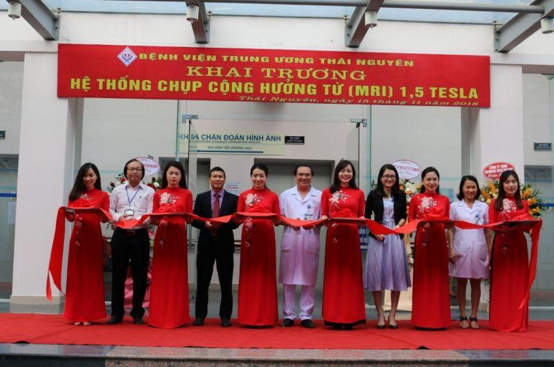 Bệnh viện Trung ương Thái Nguyên đưa vào hoạt động máy chụp Cộng hưởng từ 1.5 Tesla