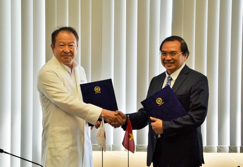 Lễ ký kết Biên bản thỏa thuận hợp tác  giữa Bệnh viện Đa khoa Trung ương Thái Nguyên  và Bệnh viện St. Mary's, Nhật Bản