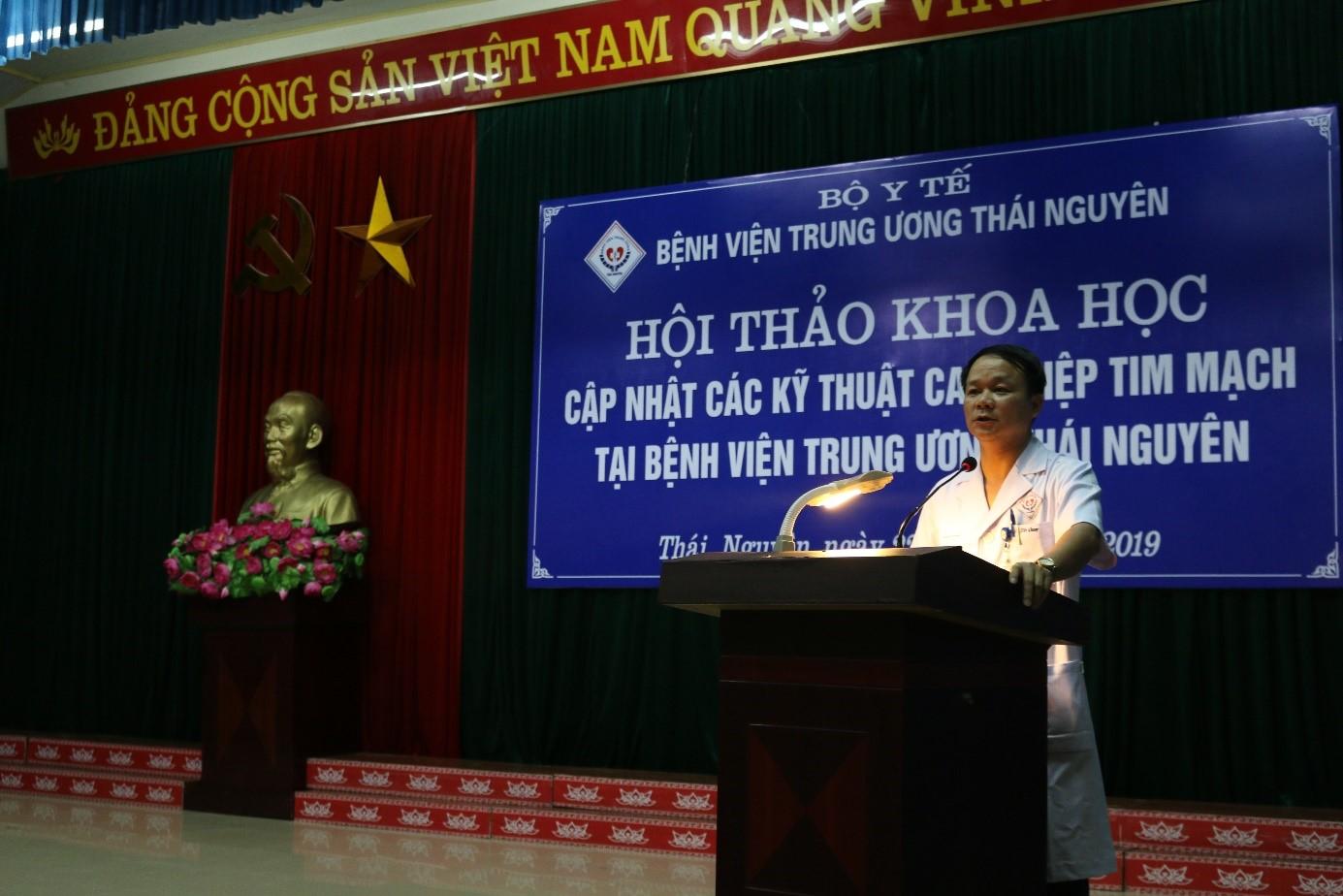 Hội thảo cập nhật các kỹ thuật can thiệp tim mạch tại Bệnh viện Trung ương Thái Nguyên