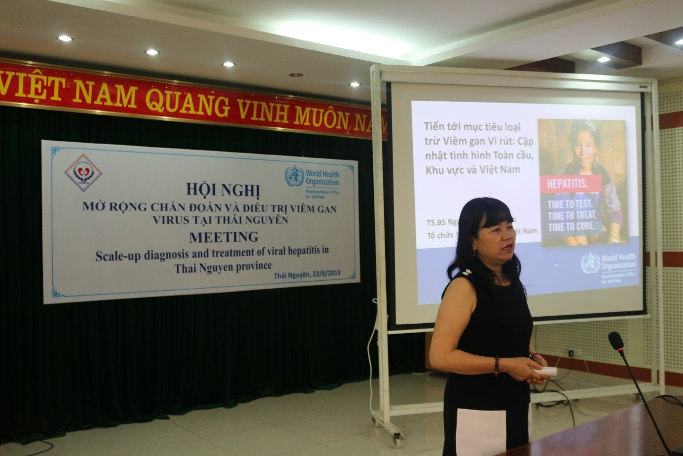Triển khai quản lý, điều trị ngoại trú viêm gan virus mạn tại Bệnh viện Trung ương Thái Nguyên