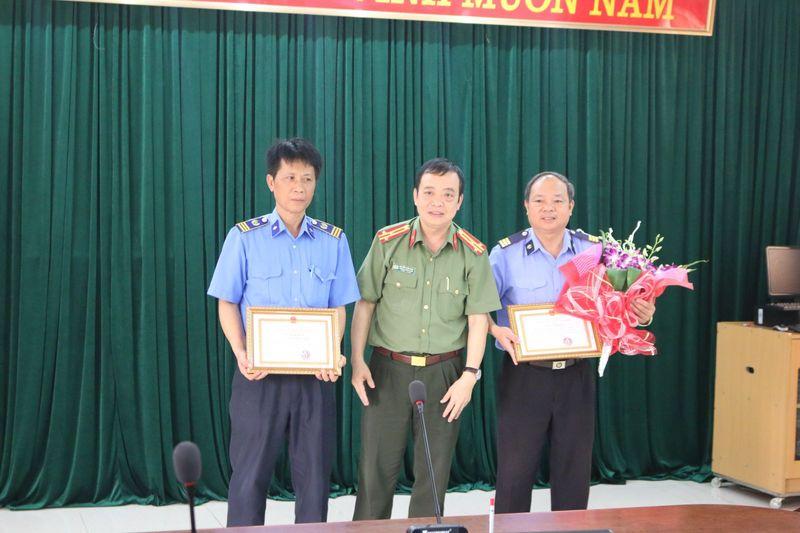 Khen thưởng công tác đảm bảo an ninh trật tự và đấu tranh phòng chống tội phạm