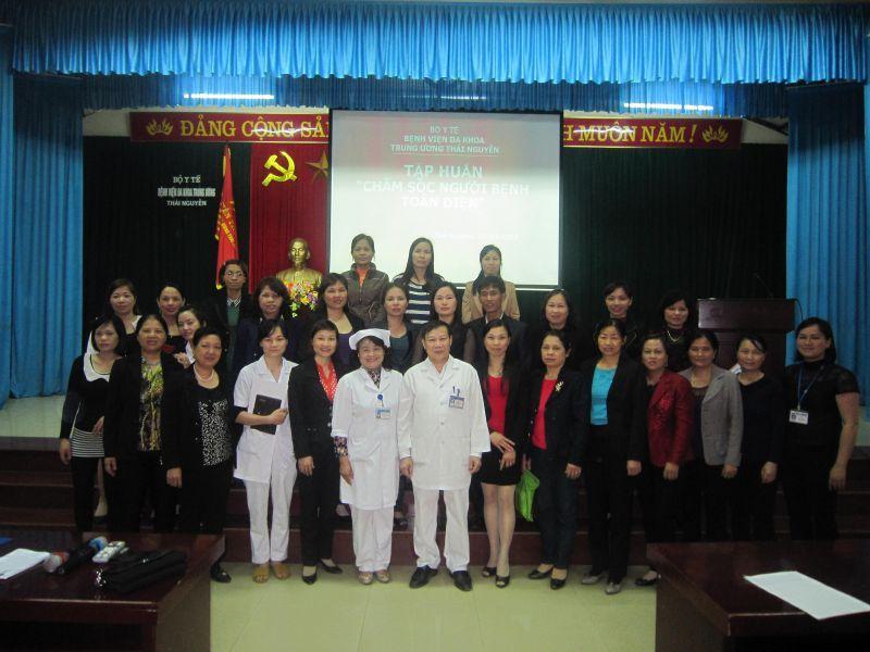 Bệnh viện đa khoa Trung ương Thái Nguyên tập huấn chỉ đạo tuyến chuyên đề