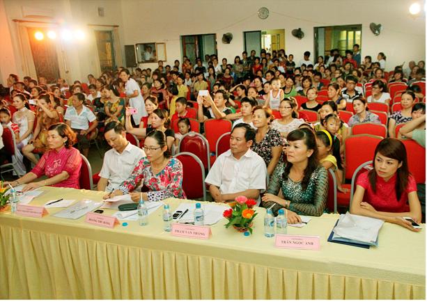 Bệnh viện đa khoa trung ương Thái Nguyên tổ chức hội thi cán bộ công đoàn giỏi năm 2013