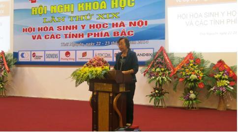 Hội nghị khoa học lần thứ XIX Hội Hóa sinh y học Hà Nội và các tỉnh phía Bắc